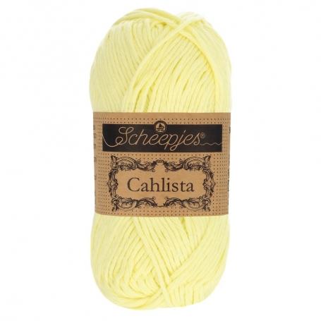 Coton à crocheter Scheepjes Cahlista mousse de citron 100