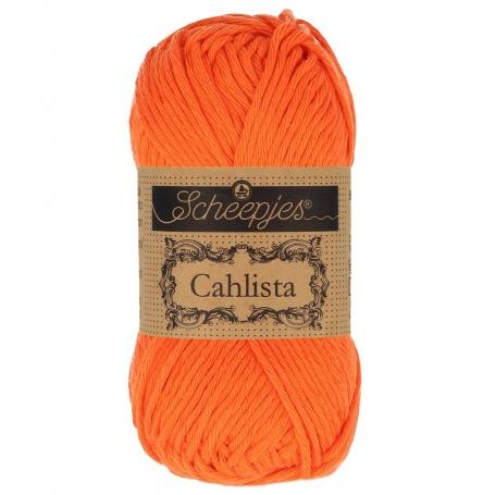 Coton à crocheter Scheepjes Cahlista orange royal 189