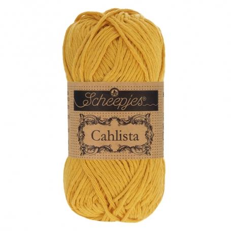 Coton à crocheter Scheepjes Cahlista safran 249