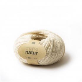 Pelote de chanvre Creative Natur crème