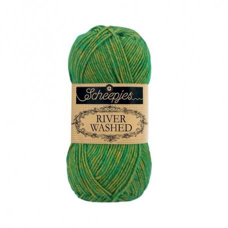 River Washed coton mélangé à crocheter Po 955