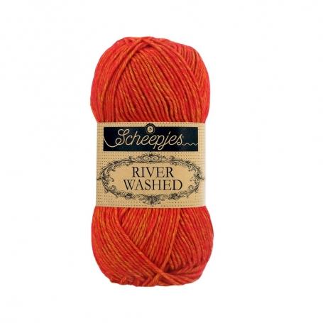 River Washed coton mélangé à crocheter Avon 956