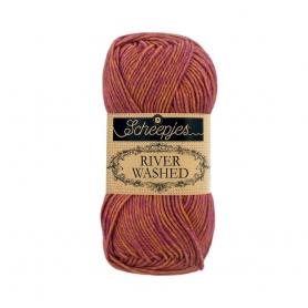 River Washed coton mélangé à crocheter Eisack 957