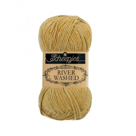 River Washed coton mélangé à crocheter Ural 959