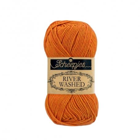 River Washed coton mélangé à crocheter Mersey 961