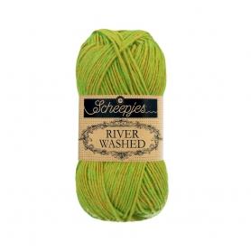 River Washed coton mélangé à crocheter Marmada 962