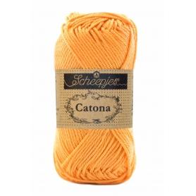 Scheepjes Catona 50 g orange douce 411