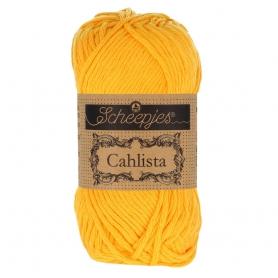 Coton à crocheter Cahlista Scheepjes jaune doré 208