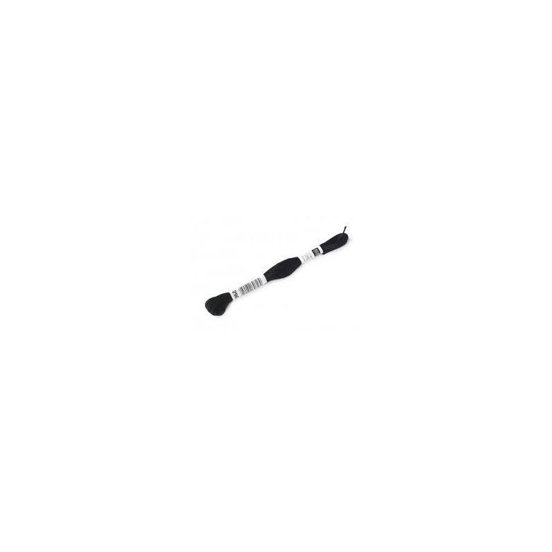 Echevette de mouliné noir à broder Rico Design
