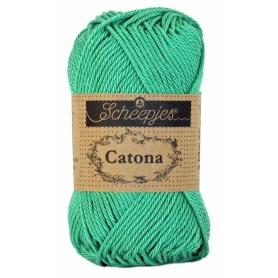 Scheepjes Catona 50 g vert perroquet 241
