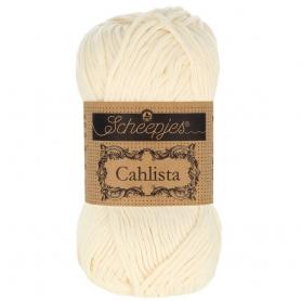 Coton à crocheter Cahlista Scheepjes blanc cassé