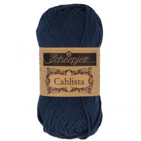 Coton à crocheter Cahlista Scheepjes ultramarine 124