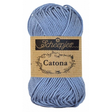Scheepjes Catona 50 g bleu mésange 247