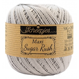 Maxi Sugar Rush coton mercerisé gris mercure