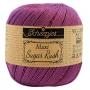 Maxi Sugar Rush coton mercerisé ultra violet