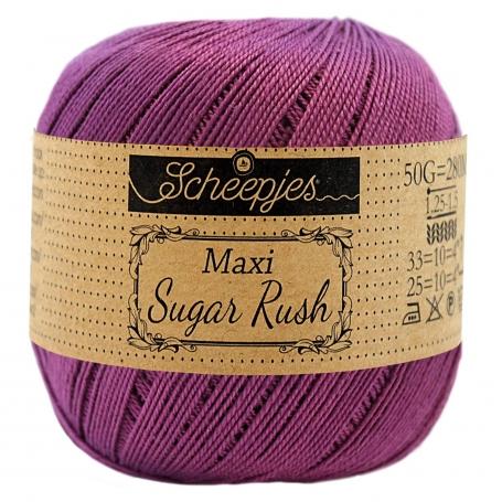 Maxi Sugar Rush n°282 coton mercerisé ultra violet 25 g