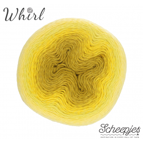 Pelote Whirl Scheepes ombrée jaune 551 Daffodil Dolally