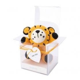 Kit crochet amigurumi tigre - Ricorumi