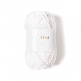 Coton à crocheter Ricorumi 25 g blanc - 001