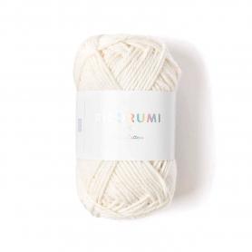 Coton à crocheter Ricorumi 25 g crème - 002