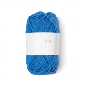 Coton à crocheter Ricorumi 25 g bleu 032