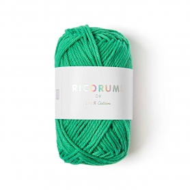 Coton à crocheter Ricorumi 25 g vert herbe 044