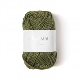 Coton à crocheter Ricorumi 25 g vert olive 048