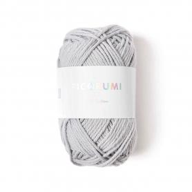Coton à crocheter Ricorumi 25 g gris argenté 058