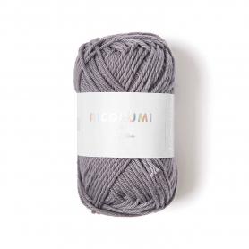 Coton à crocheter Ricorumi 25 g gris souris 059