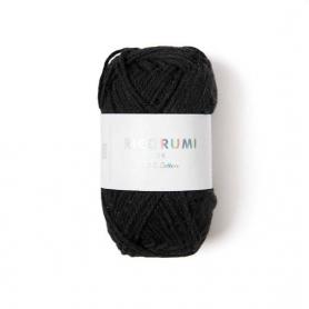 Coton à crocheter Ricorumi 25 g noir 060