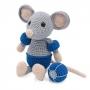 Kit crochet HardiCraft - eddy la souris