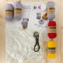 Kit crochet HardiCraft - Helga l'hippopotame