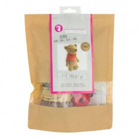 Kit crochet HardiCraft - Bobbi l'ours debout