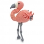 Kit crochet HardiCraft - Coco le flamant rose