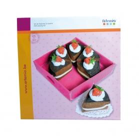 Kit gâteau en feutrine