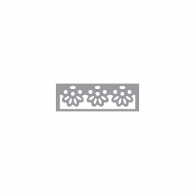 Perforatrice bordure moulures fleurs, Rayher