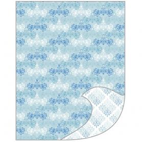 Feuille A4 papier de bricolage Tante Ema duo de fleurs