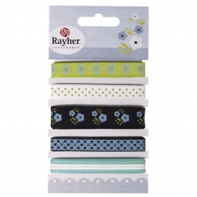 "Assortiment 5 rubans ""Fresh"" de Rayher"