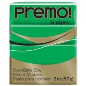 Premo Sculpey pain de 57g - vert 5323