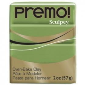 Premo Sculpey pain de 57g - vert olive 5007