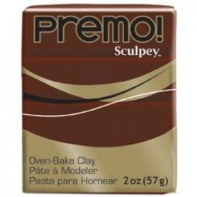 Premo Sculpey pain de 57g - brun marron 5053