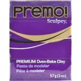 Premo Sculpey pain de 57g - violet 5513