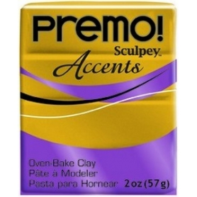 Premo Sculpey pain de 57g - Accents Or Antique 5517
