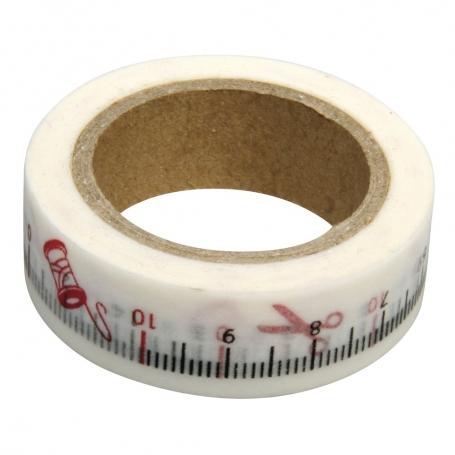 """Masking tape """"mètre de couturière"""""""