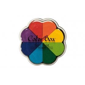 """Encreurs 8 pétales Colorbox """"pinwheel"""""""