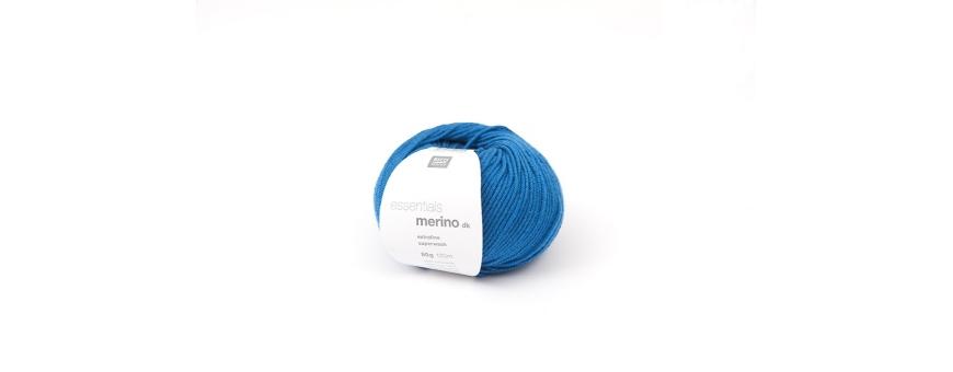 Fils à tricoter et laines d'hiver