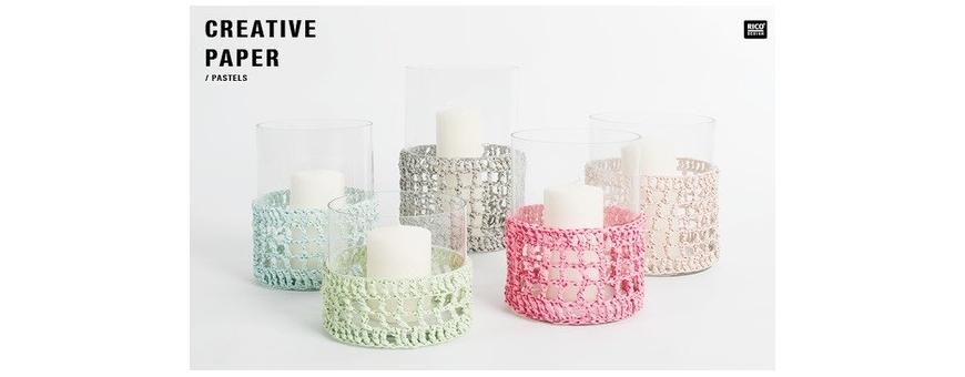 Creative paper - fil de papier à crocheter