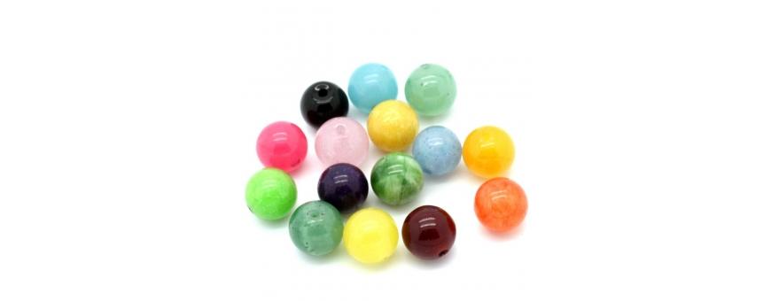 Perles céramiques et minérales